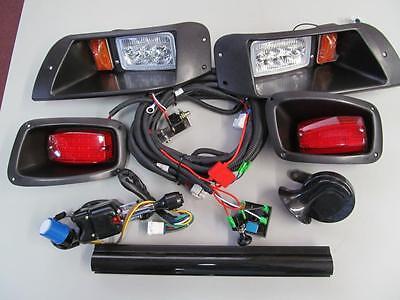 96-2013 EZGO TXT Golf Cart Street Legal LED Light Kit Turn & Brake Lights #2000L