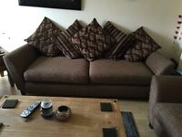 Three piece suite for sale £150 ono - available beginning of October