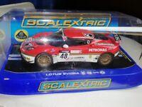 Scalextric Lotus evora - boxed as new £25