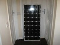 95w Solar Panel Kit For Caravan, Motor, Camper Van, Stables or Garden Shed 100w