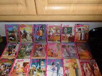 18 Hardback Barbie Books