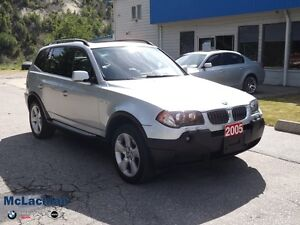 2005 BMW X3 3.0i-6Cyl-Auto-AWD-Loaded -REDUCED!