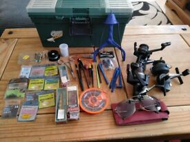 Collection of fishing gear ect