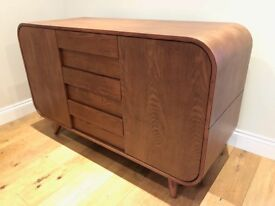 Made Esme Large Sideboard in Dark Stain Ash RRP £399