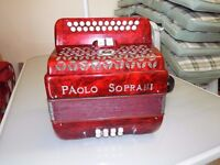 Paolo Soprani BC Tunning Great Condition accordion