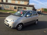 Chevrolet Matiz 1.0 SE 5 Doors Silver low millage only 48000 miles