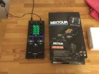 Reloop Mixtour Digital DJ mixer.