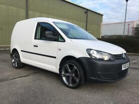 2013 63 Vw Volkswagen caddy van 1.6 tdi 50k full service 100% loads of extras