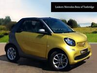 smart fortwo cabrio PASSION (yellow) 2016-03-10