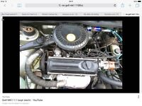 Mk1 Golf 1100/1300 cc Engine and Gearbox Wanted