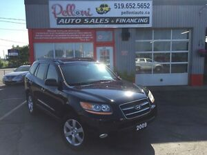 2009 Hyundai Santa Fe LIMITED AWD LEATHER+ROOF NO ACCIDENTS