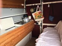 Old but quirky and cosy camper with MOT till May 2018 - going for a song