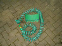 High Quality Hose Pipe 10M retractable Coil Hose with wall bracket