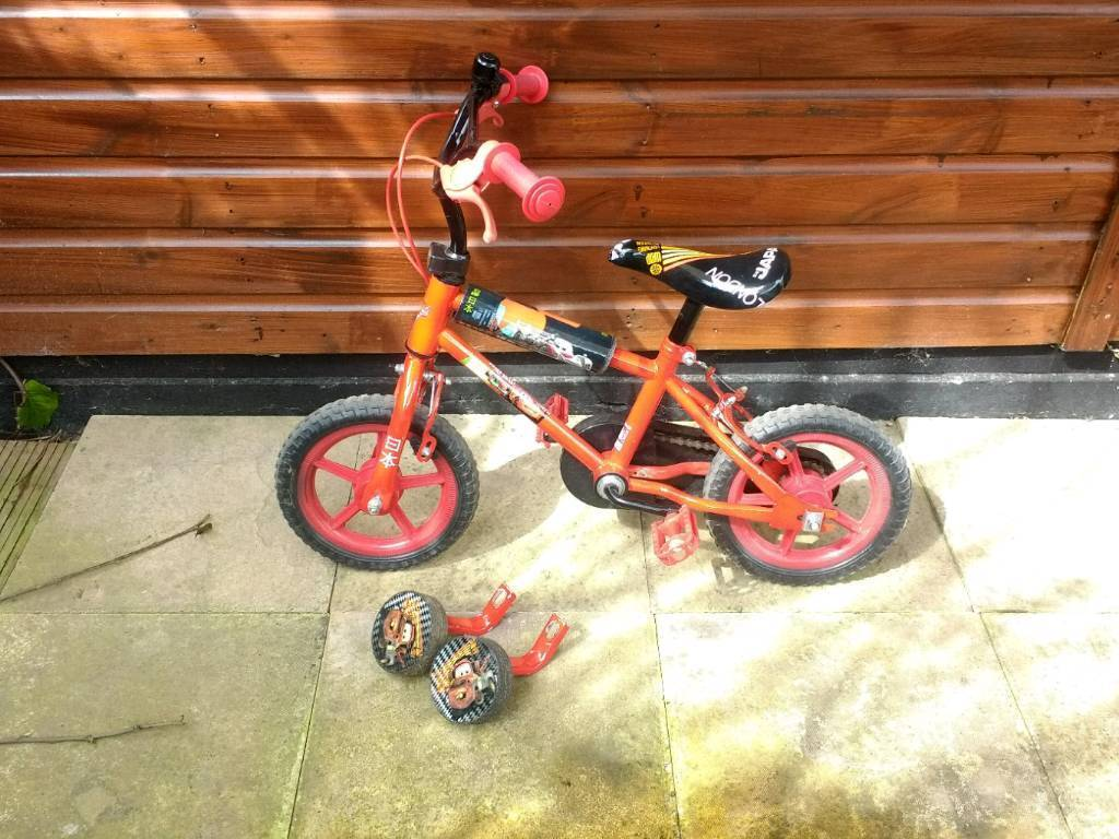 Boys bike for up to 4 years old Wheel size 11