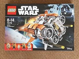 Lego 75178 Star Wars Jakku Quadjumper - Brand New