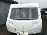 2011 Sterling Europa 520 4 Berth Beautifully looked after modern caravan.