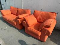 VERY COMFY AND CLEAN FABRIC SOFA SET 2+1 seater