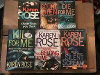 Karen Rose 5 Novels Books (3 hard, 2 soft)