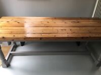 Vintage Dining / Kitchen Refectory Table