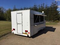 Professional 16ft Long Twin Axle Street Food, Catering Trailer, Food Trailer