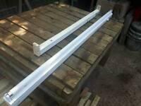 2x strip lights shed workshop