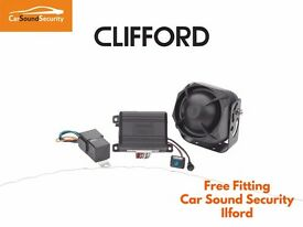 Clifford 330 X1 Cat 1 Car Alarm AUDI A1 A3 A4 A5 A6 A7 TT R8 Q3 Q5 Q7 Fully Fitted Essex London Area