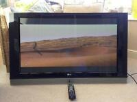 Lg tv 42 inch with remote control