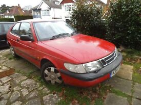 Saab 900 s no MOT for parts or a project