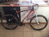 Whistle mountain bike 1383d used in good conditiin