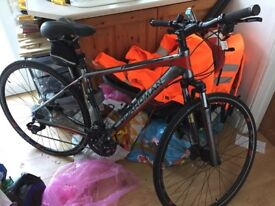 Excellent condition, never used - Boardman mx comp hybrid 49cm MD 2016 model