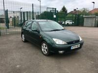 2005 FORD FOCUS 1.6 PETROL MANUAL – ONLY 86K WARRANTED MILEAGE, NEW MOT, 5 DOOR, CHEAP CARS