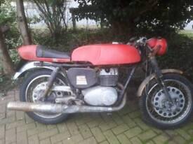 1968 tax and mot exempt yamaha yds5 motorbike cafe racer hybrid flat tracker 250cc trophy