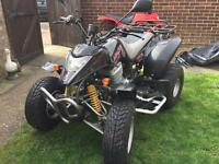 Apache 250 RLX road legal quad