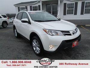 2013 Toyota RAV4 Limited $224.59 BIWEEKLY!!!