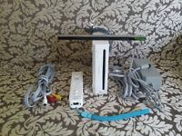 UK Nintendo Wii Console Complete With All Cables Required + Wii Balance Board
