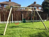 New large triple / double / sindlewooden swings