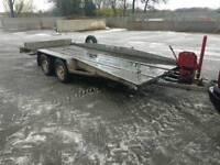 Bateson 16ft tilt bed car transport trailer