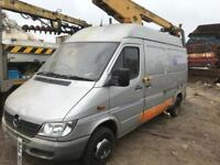 Mercedes sprinter breaking for spares
