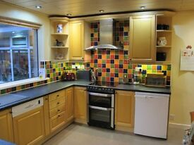 Maple Kitchen for sale - Solid Maple doors and sturdy 18mm carcases