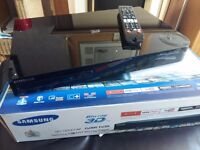 Samsung Blu-ray 3D Player with built in HD tuner
