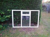 2 x double glazed windows 193 x 130cm approx
