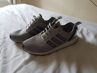 Mens Grey Adidas Trainers SIZE 9