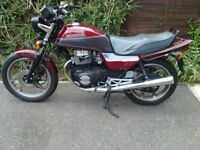 1989 HONDA CB450DX. VMCC AND CLASSIC INSURANCE ELIGIBLE.