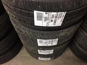 235/55/17 Goodyear Eagle RS-A *Allseason Tires*