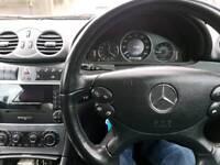 Mercedes clk 209 2005 1.8 kompressor petrol / lpg
