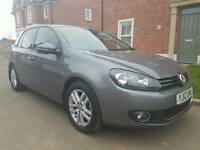 2012 Volkswagen Golf GT TDI 2.0 140Bhp 6 Speed Leather Seats Bluemotion £30 Road Tax Jetta Passat