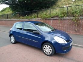 2008 Renault Clio 1.2 16v 53,000 Miles 3 Door Service History 1 Owner Car Looks & Drives Great
