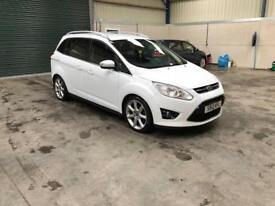 2012 Ford grand c max Titanuium 7 str 1 owner fsh guaranteed cheapest in country