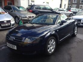 AUDI TT 1.8 TURBO ROADSTER 150BHP CONVERTIBLE 2004 MINT FULL HISTORY LEATHER ...