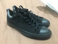 Brand new Converse pumps trainers black and grey uk size 7 mens, womens size 9